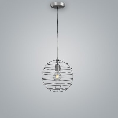 Sphere Suspension Globe Pendant Finish: Pewter, Size: 13.75 H x 13.75 W x 13.75 D