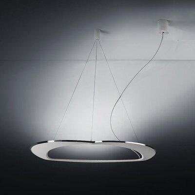 Diadema 3-Light LED Geometric Pendant Finish: Aluminum/White