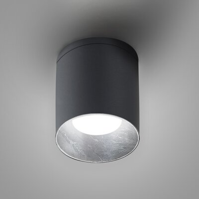 Kone 1-Light LED Directional and Spotlight Fixture Finish: Titanium/Silver Leaf