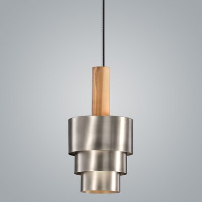 Reflections 1-Light Mini Pendant Finish: Pewter