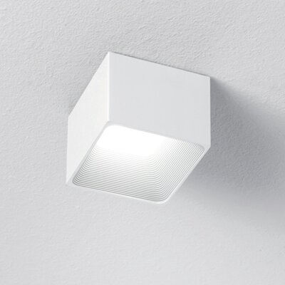 1-Light LED Flush Mount Finish: White D4-2008WHI