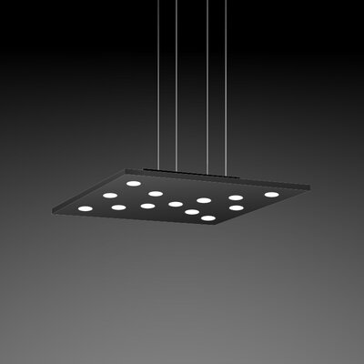 Pop Suspension 11-Light Pendant Finish: Black