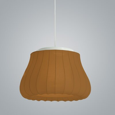 Lily Inverted Pendant Finish: Brown