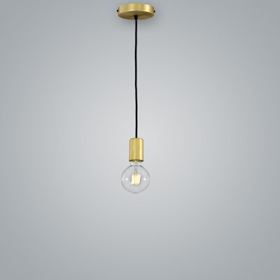 Sphere Suspension Mini Pendant Finish: Brass
