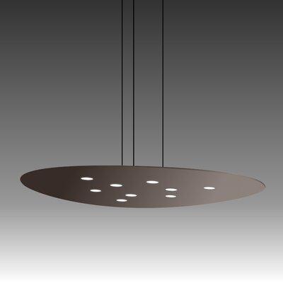 Scudo Suspension 9-Light Pendant Finish: Mocha