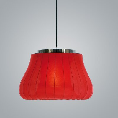 Lily Inverted Pendant Finish: Red