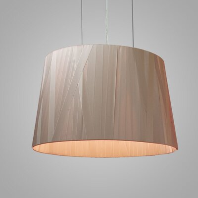 Dress 6-Light Drum Pendant Finish: Taupe