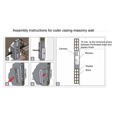 Spillo Masonry Housing Lighting Accessories