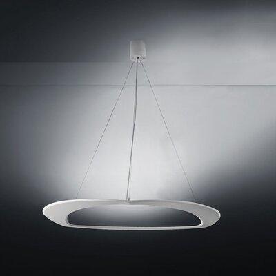 Diadema 3-Light LED Geometric Pendant Finish: White