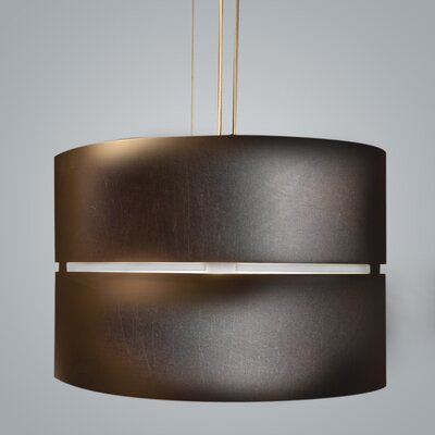 Luz Oculta Drum Pendant Finish: Brass