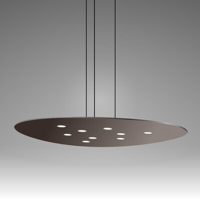 Scudo Suspension 9-Light Pendant Finish: Mocha