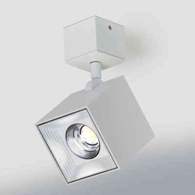 Ona 1-Light LED Directional and Spotlight Fixture Finish: White