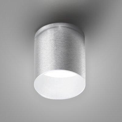Kone Directional and Spotlight Fixture Finish: Brushed Aluminum/White