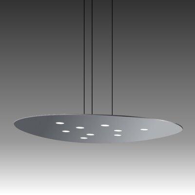 Scudo Suspension 9-Light Pendant Finish: Gray