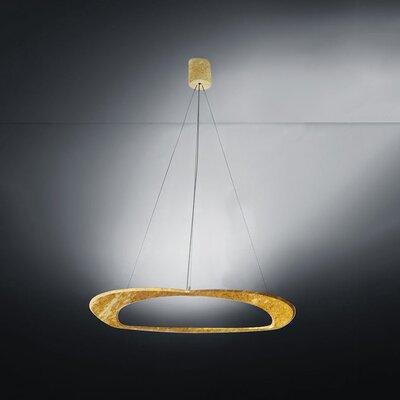 Diadema 3-Light Chandelier Finish: Gold Leaf