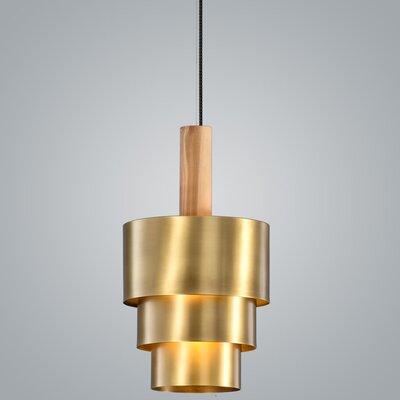Reflections 1-Light Pendant Finish: Brass