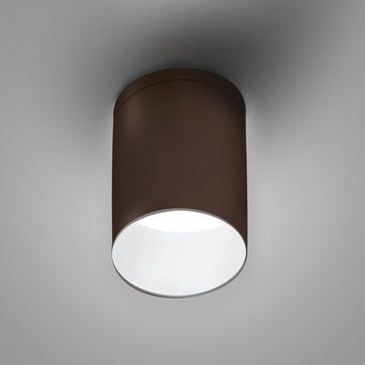 Kone Directional and Spotlight Fixture Finish: Chocolate/White
