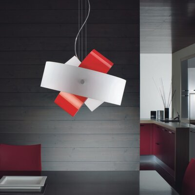 Tourbillon 1-Light Mini Pendant Shade Color: White