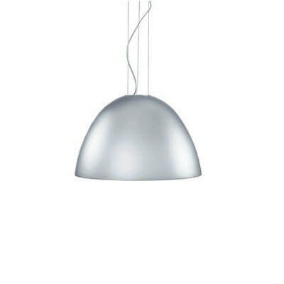 Willy 3-Light Bowl Pendant Finish: Metallic Gray Aluminum