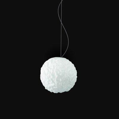 Emisfero 1-Light Globe Pendant Size: 55 H x 9.81 W x 9.81 D