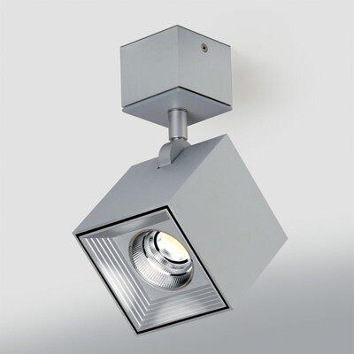 Ona 1-Light LED Directional and Spotlight Fixture Finish: Brushed Satin Aluminum