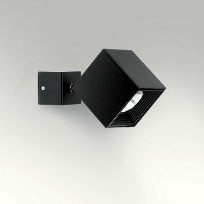 Ona 1-Light LED Directional and Spotlight Fixture Finish: Black