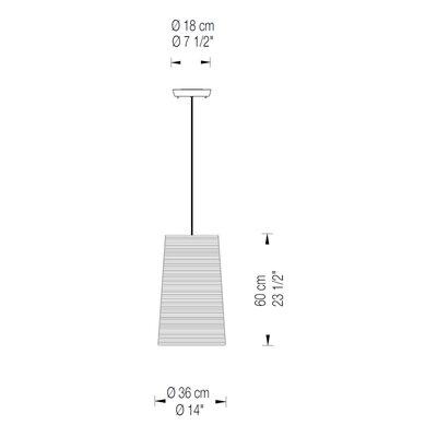1-Light Drum Pendant Finish: White, Size: 11.75 H x 10 W x 10 D