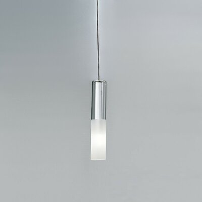 Jazz 1 Light Pendant Finish: White