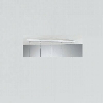Jazz 5-Light Pendant Holder in White
