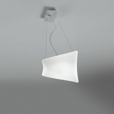 Dreamy 1-Light Mini Pendant Size: 7.75 H x 10 W x 10 D
