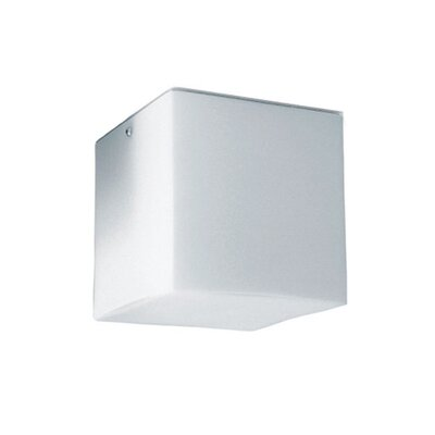 Kubik 1-Light Flush Mount Size: 5.5 H x 5.5 W x 5.5 D