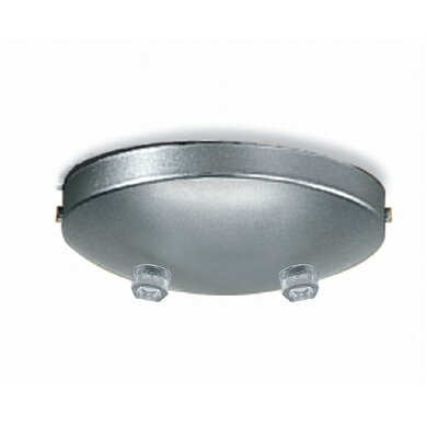 Canopy - Double Outlet Finish: Gray Metal