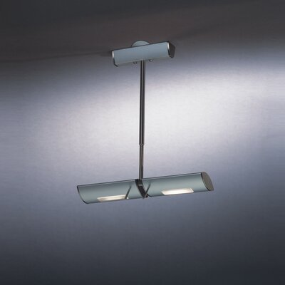 Ra 2-Light Kitchen Island Pendant