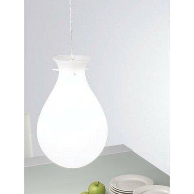 Ona 1-Light Mini Pendant Size: 10.5 D x 59 H / 1 x 24W CFL