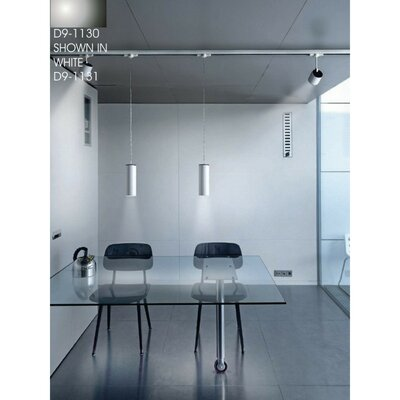 Kronn 1-Light Mini Pendant Finish: Chrome