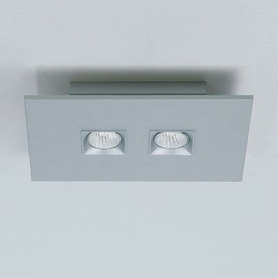 Polifemo 2-Light Ceiling Flush Mount