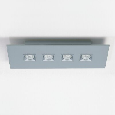 Polifemo 4-Light Ceiling Flush Mount
