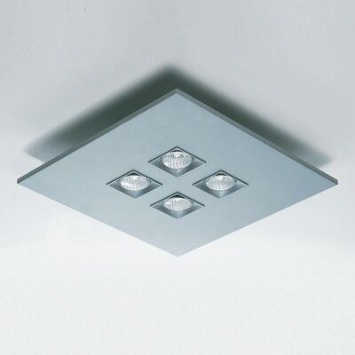 Polifemo 4-Light Semi Flush Mount