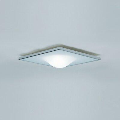 Dickey 1-Light Flush Mount Size: 4.25 H