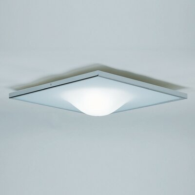 Dickey 1-Light Flush Mount Size: 5.125 H
