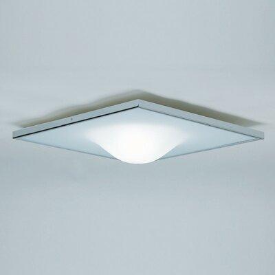 Dickey 1-Light Flush Mount Size: 5.125 H