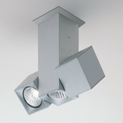 Dau Spot Dual Rotating 3-Light Directional & Spotlight