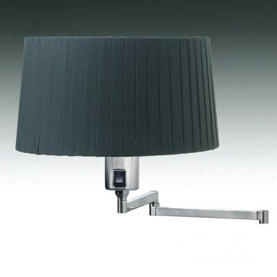 Elea 6 Drum Lamp Shade Color: Black Pleated