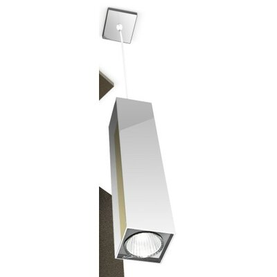 Two 1-Light Mini Pendant Finish: Sanded Aluminum