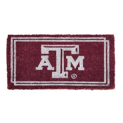 NCAA Texas A&M Welcome Graphic Printed Doormat