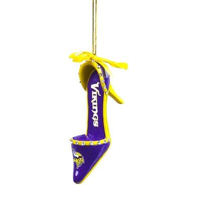 NFL Team Shoe Ornament NFL Team: Minnesota Vikings 4PU4928IT
