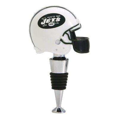 NFL Helmet Wine Stopper NFL Team: New York Jets 4XT4932B