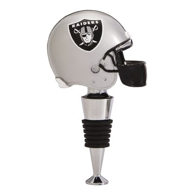 NFL Helmet Wine Stopper NFL Team: Oakland Raiders 4XT4933B