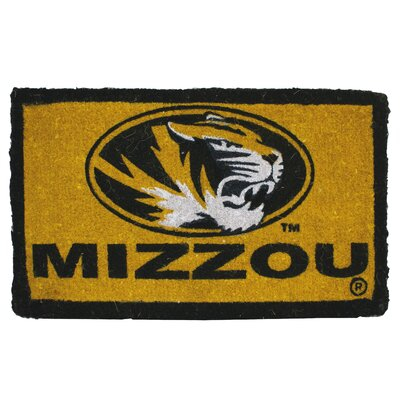 NCAA Missouri Welcome Graphic Printed Doormat