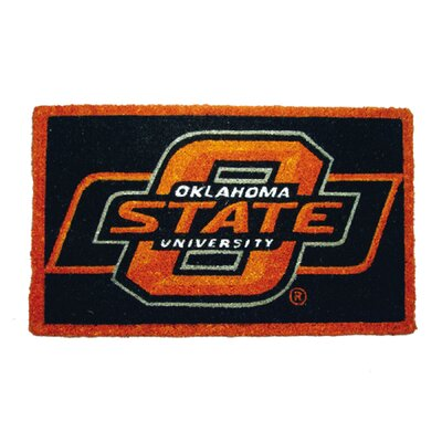 NCAA Oklahoma State Welcome Graphic Printed Doormat